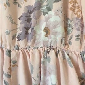 Torrid floral/ pastel goth babydoll dress/tunic